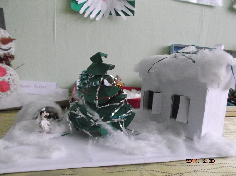 Зимняя сказка фото поделки